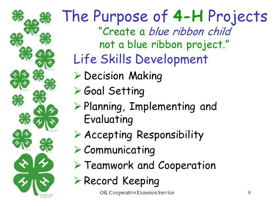 Oklahoma 4-H Youth Development New Parent Orientation - ppt