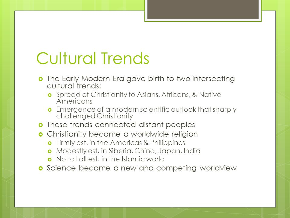 Cultural Transformations: Religion & Science - ppt video