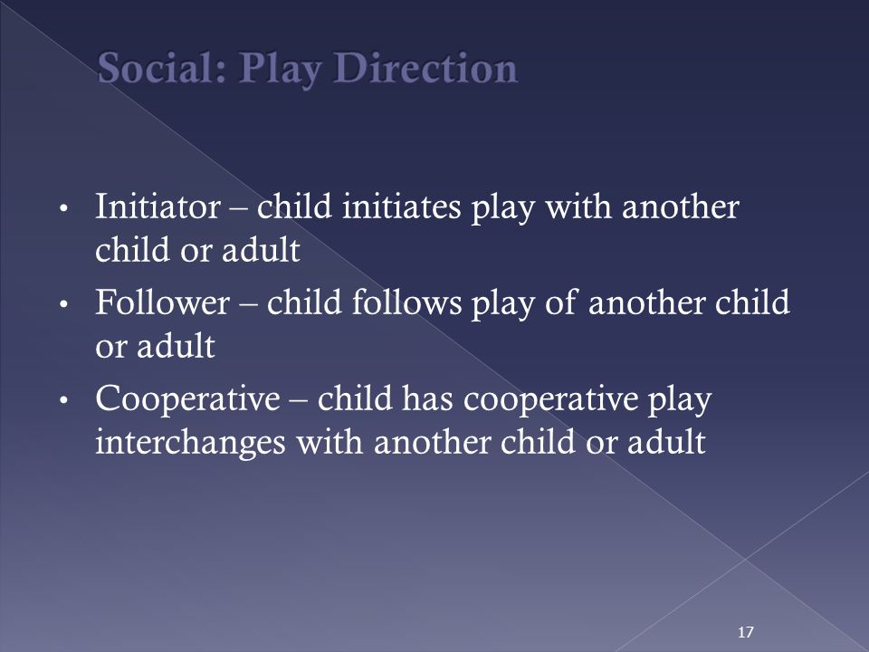 Social: Play Direction