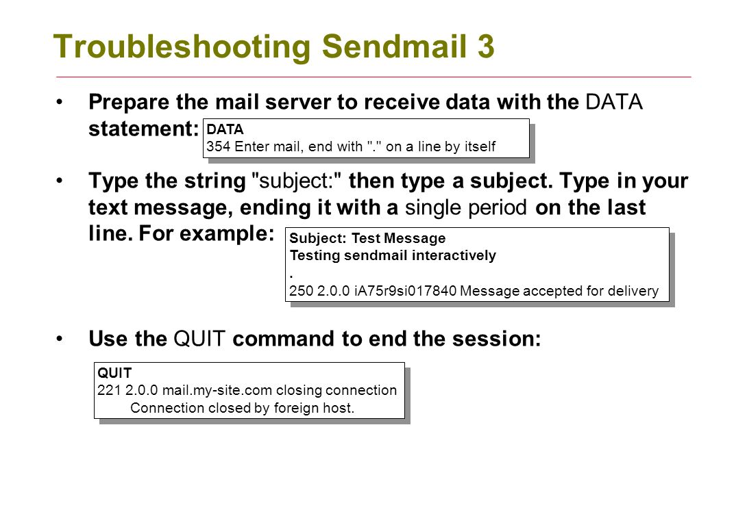 Configuring Linux Mail Servers Ppt Download