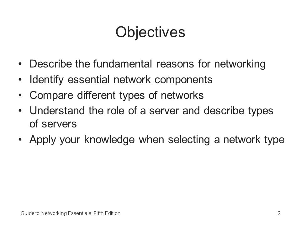 guide to networking essentials fifth edition ppt video online download rh slideplayer com guide to network essentials 7th edition guide to network essentials case project 12-1