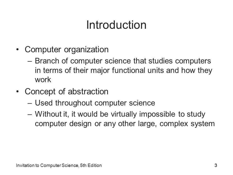 Invitation To Computer Science 5th Edition Ppt Video Online Download