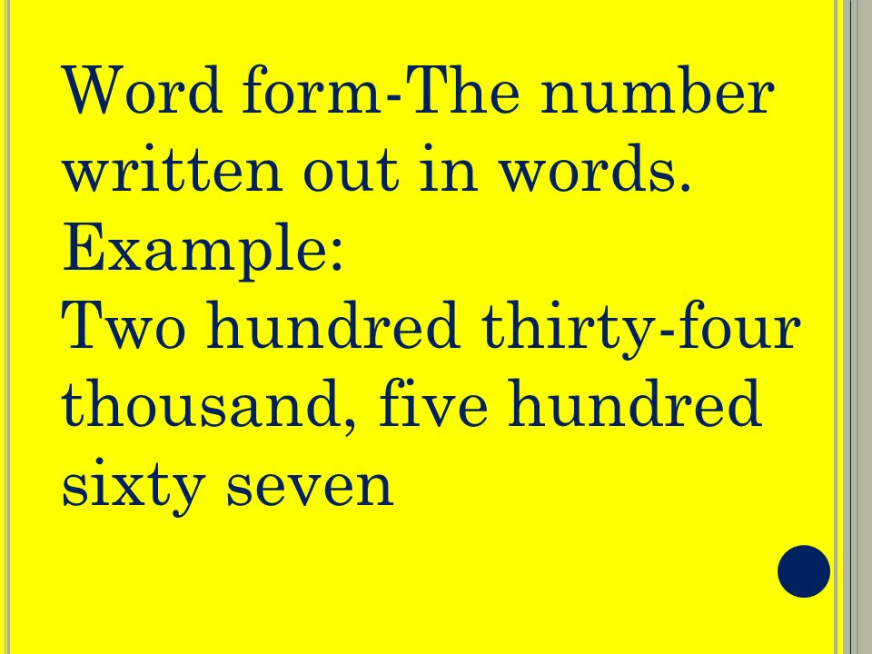 what has only two words but thousands of letters place value vocabulary place value digit standard form 962