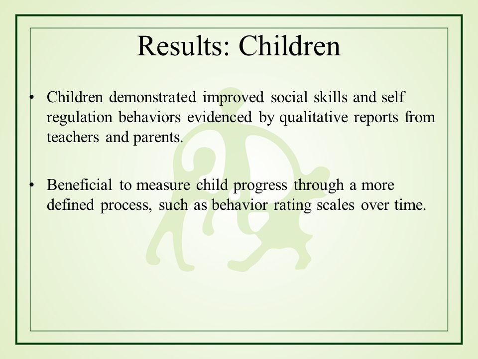 Results: Children