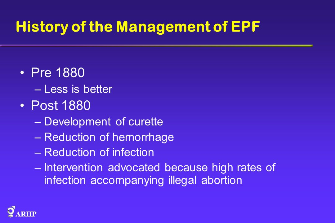History of the Management of EPF