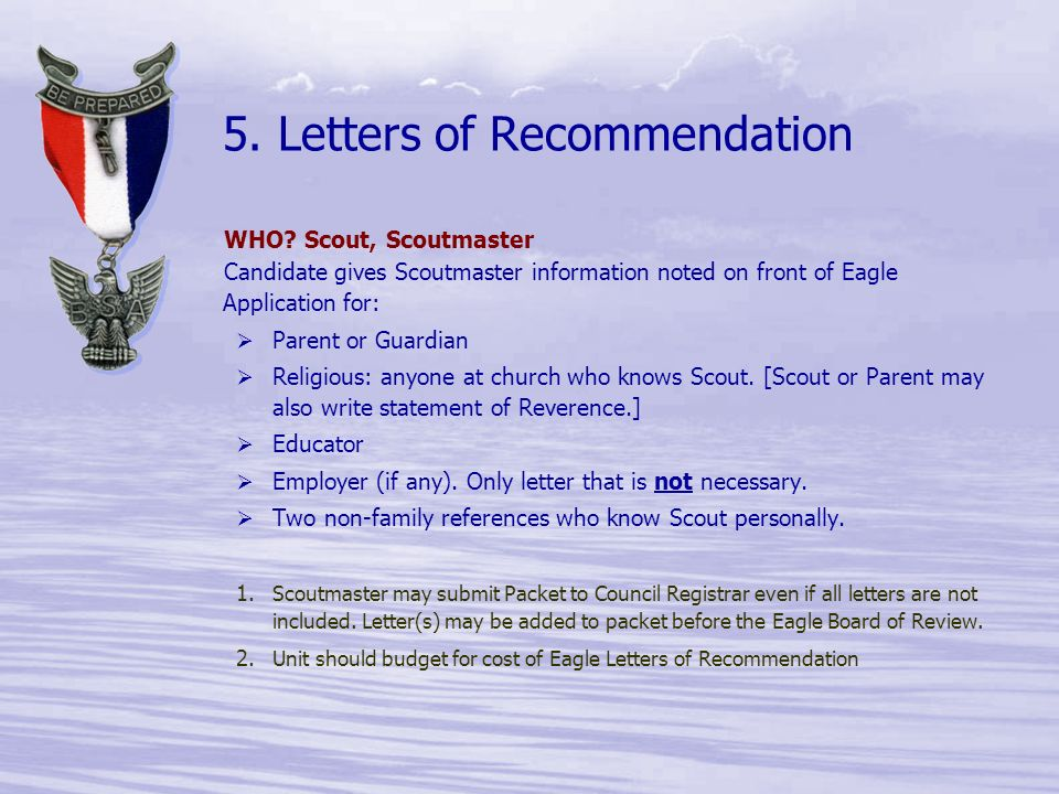 The Life to Eagle Process for ppt