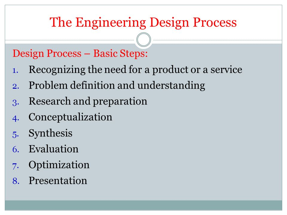 Chapter 3 Introduction To Engineering Design Ppt Video Online Download