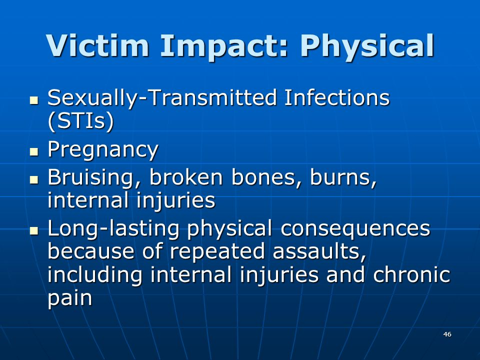 Victim Impact: Physical