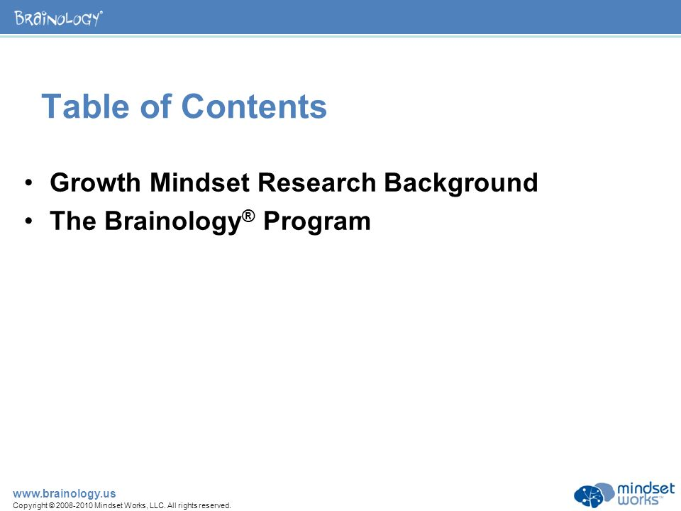 brainology transforming students motivation to learn summary