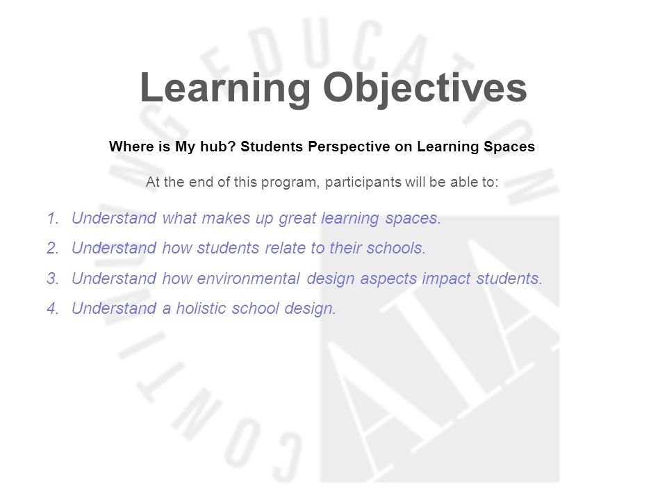 Where is My hub Students Perspective on Learning Spaces