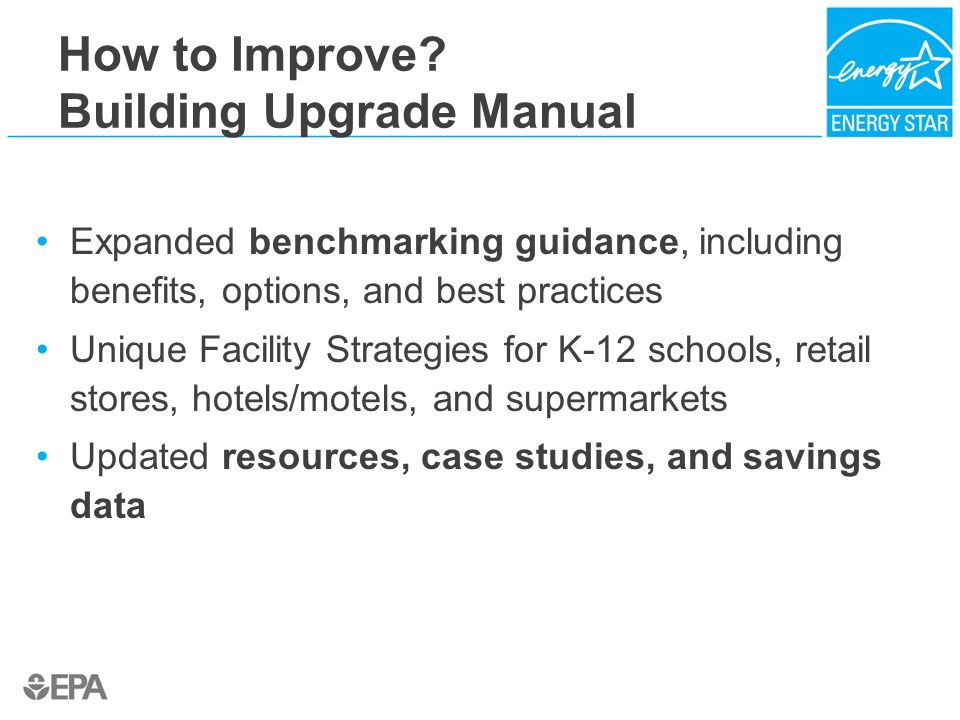 How to Improve Building Upgrade Manual