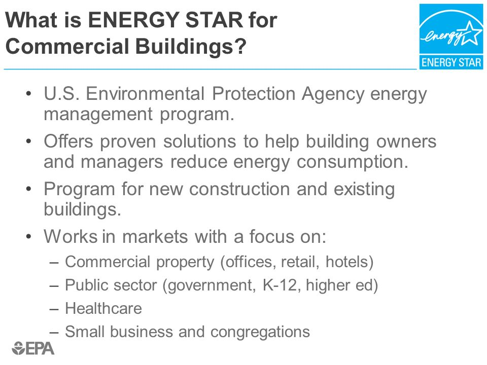 What is ENERGY STAR for Commercial Buildings