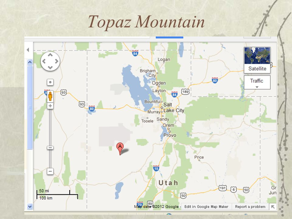 Topaz Mountain Utah Map.Chapter 2 Utah S Geology Ppt Video Online Download