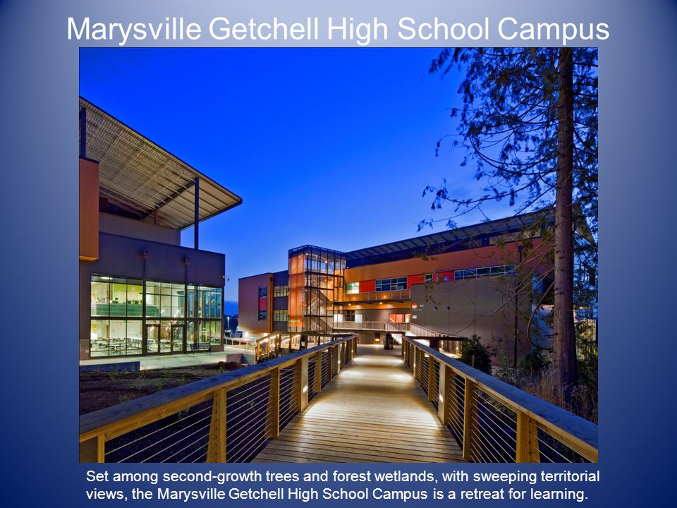 Marysville Getchell High School Campus