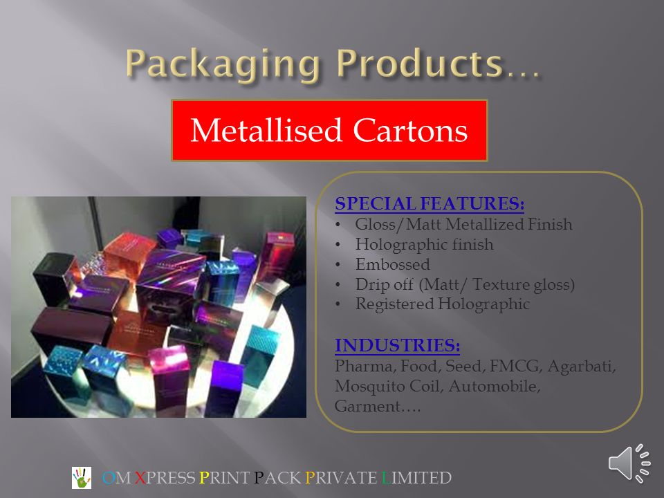 OM XPRESS PRINT PACK PRIVATE LIMITED - ppt video online download