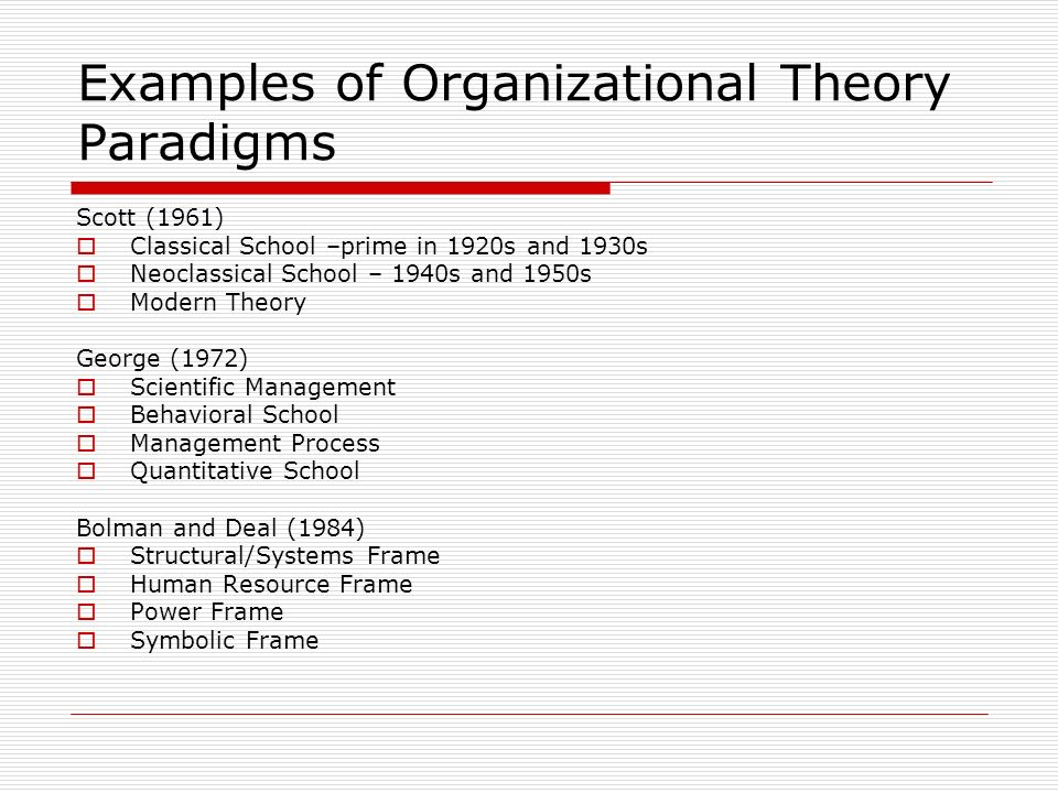 cultural perspective in organization theory