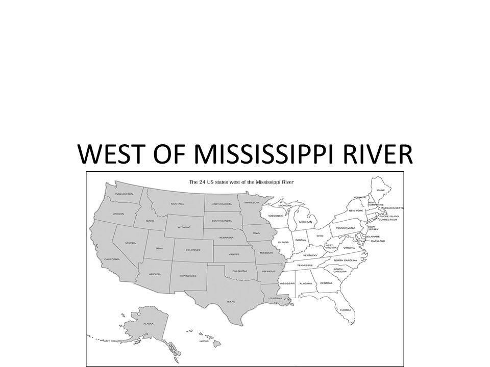 the development of the west beyond the mississippi Get this from a library western america the exploration, settlement, and development of the region beyond the mississippi  [leroy r hafen carl coke rister.