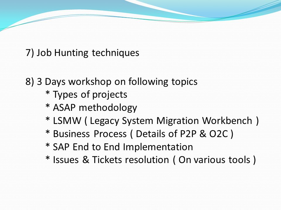 Course Outlines 1) Customized SAP FICO Configuration Guide 2) Question &  answers ( Real time Explanation) 3) Interview Practice sessions (Telephonic)