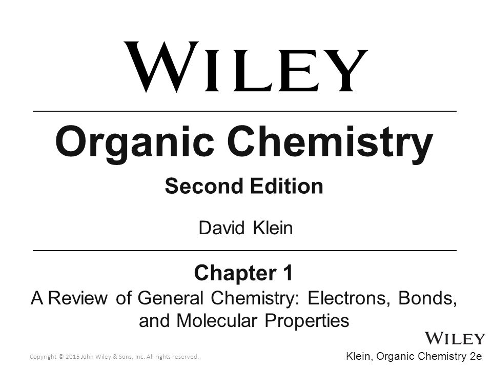 david klein organic chemistry 3rd edition solutions manual