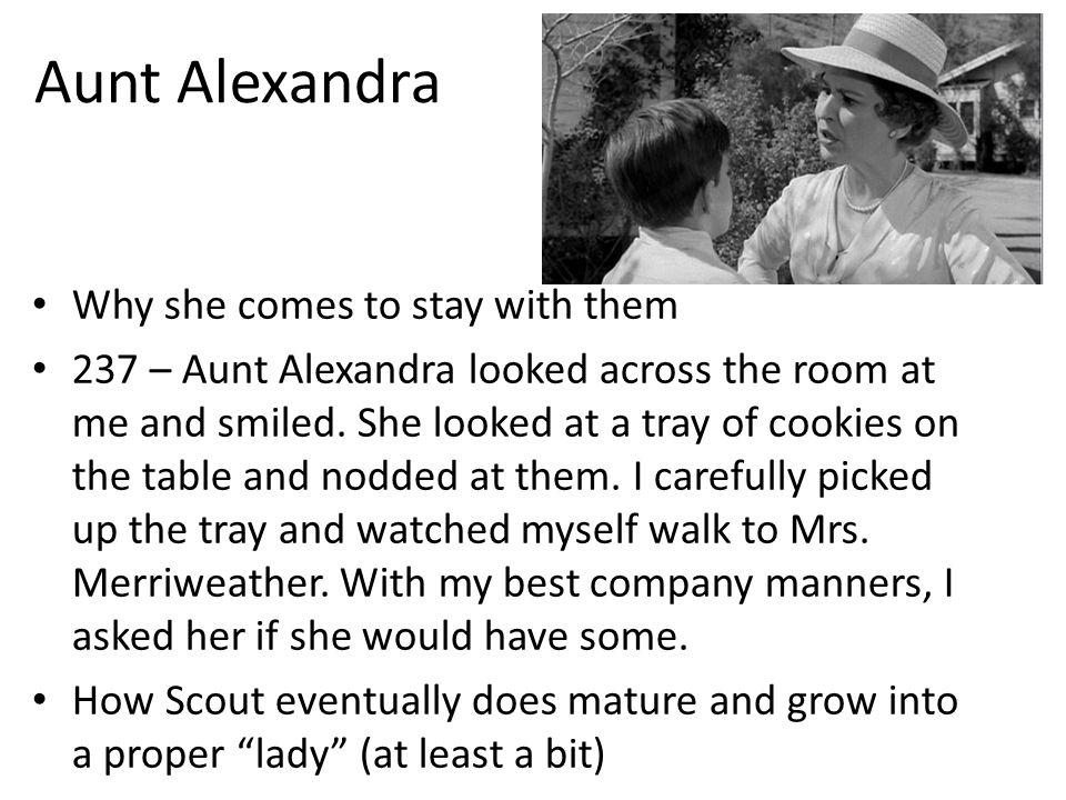 aunt alexandra quotes