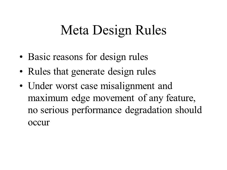 Design Rules EE213 VLSI Design  - ppt video online download