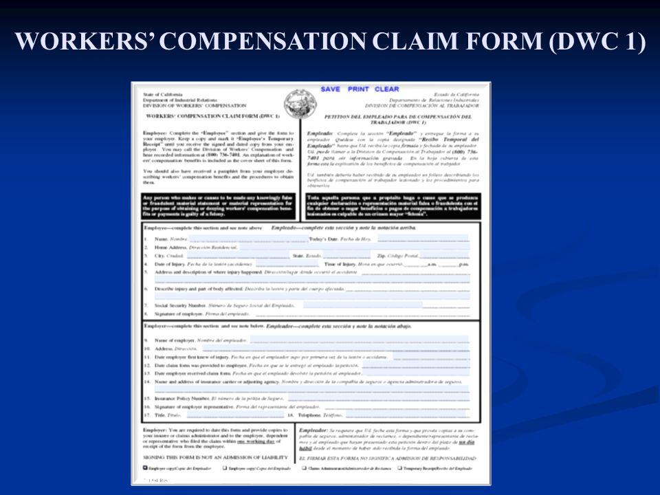 workers' compensation program ceo risk management branch - ppt download