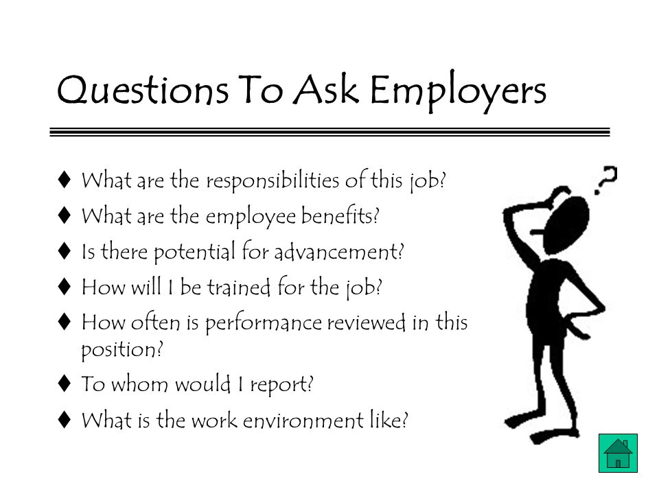 what questions to ask the interviewer