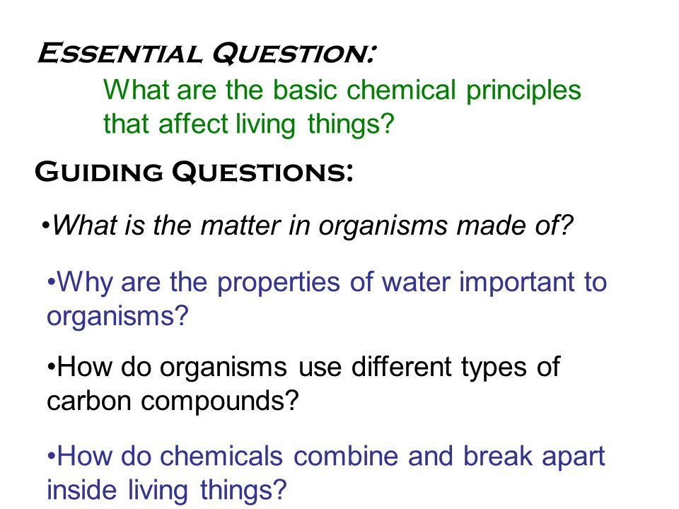 Chemistry Of Life Matter And Energy Ppt Video Online Download
