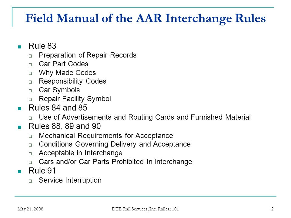 field manual of the aar interchange rules ppt video online download rh slideplayer com Multi Cam Field Manual Counterinsurgency Field Manual
