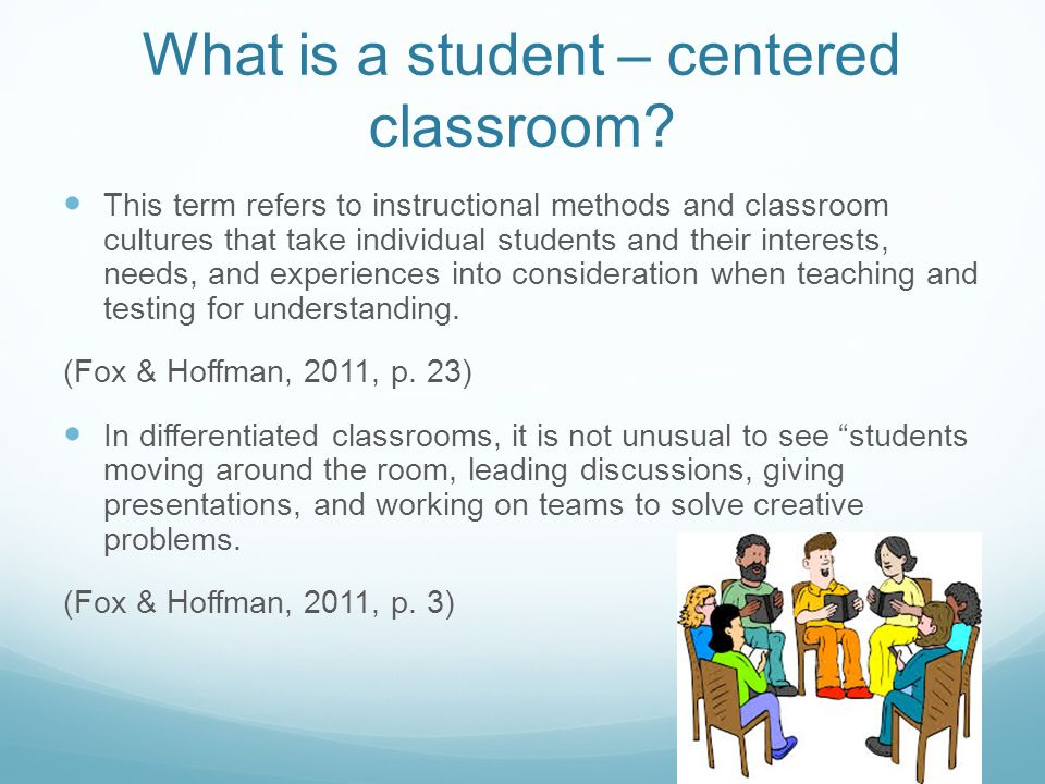 The Student Centered Classroom Ppt Video Online Download