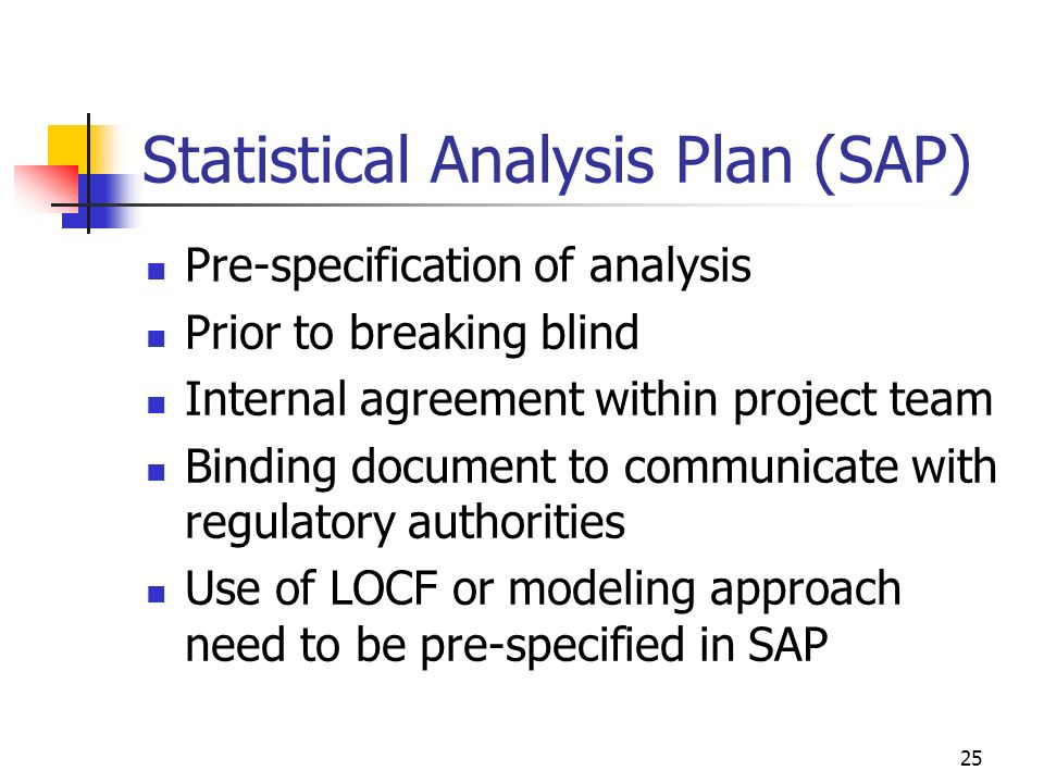 Statistical Analysis Plan (SAP)