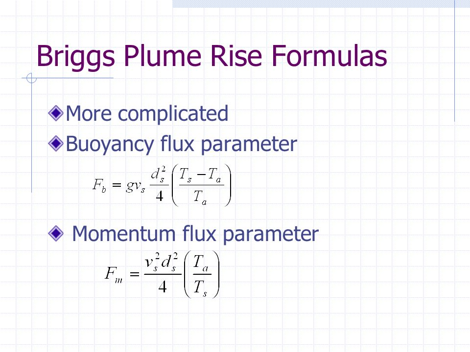 Session 4, Unit 7 Plume Rise - ppt video online download