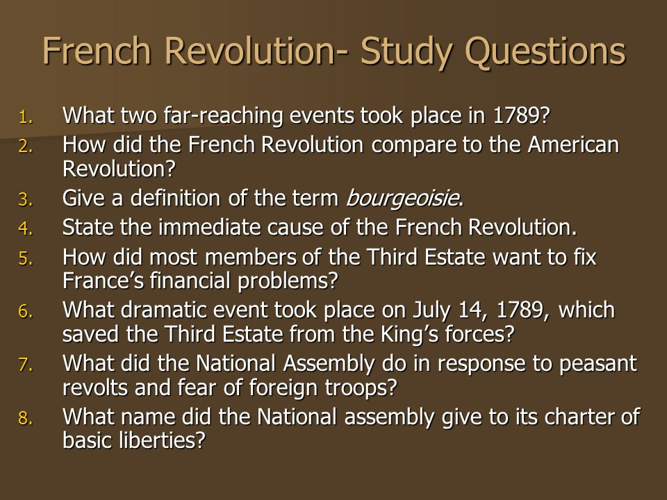 what was an immediate cause of the 1789 french revolution