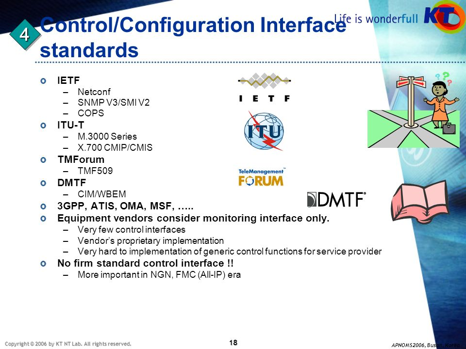 Control/Configuration Interface standards