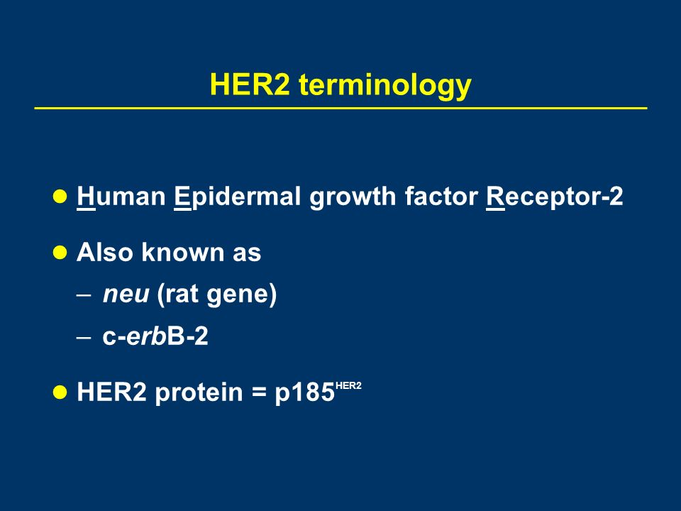 Targeted Therapy For Her2 Positive Breast Cancer Ppt Download