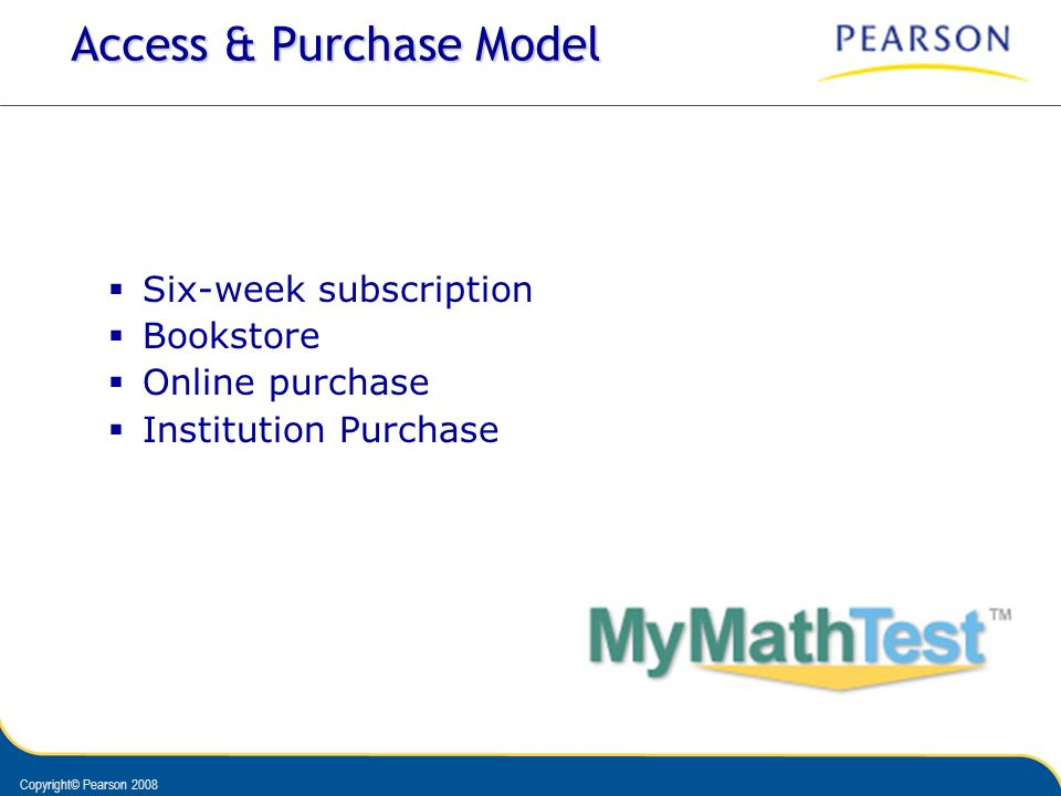 Access & Purchase Model
