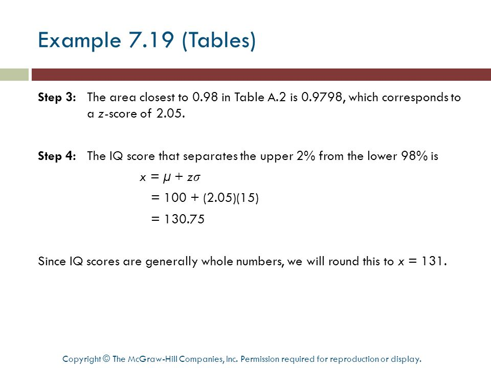 Example 7.19 (Tables)