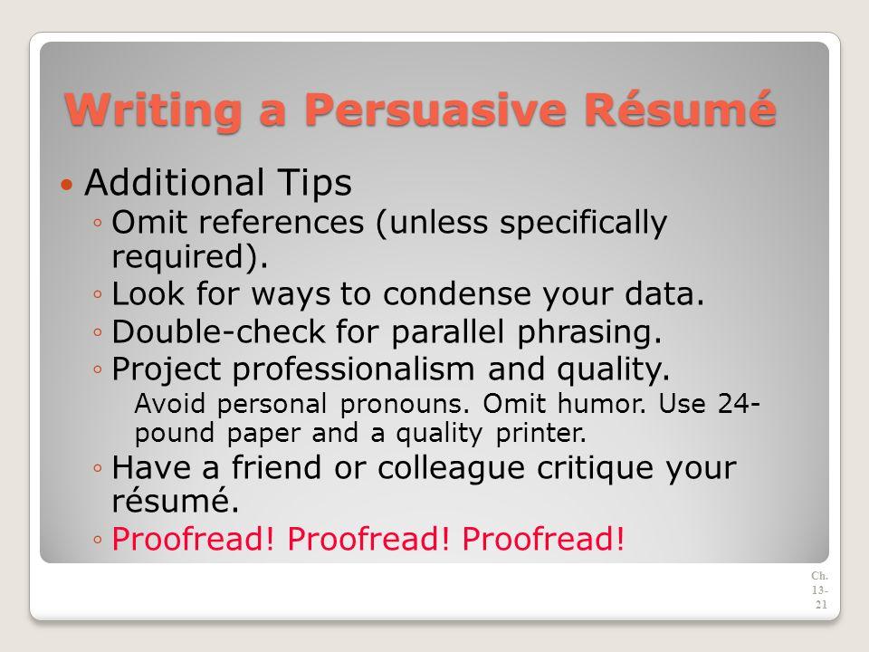 the job search résumés and application letters ppt download