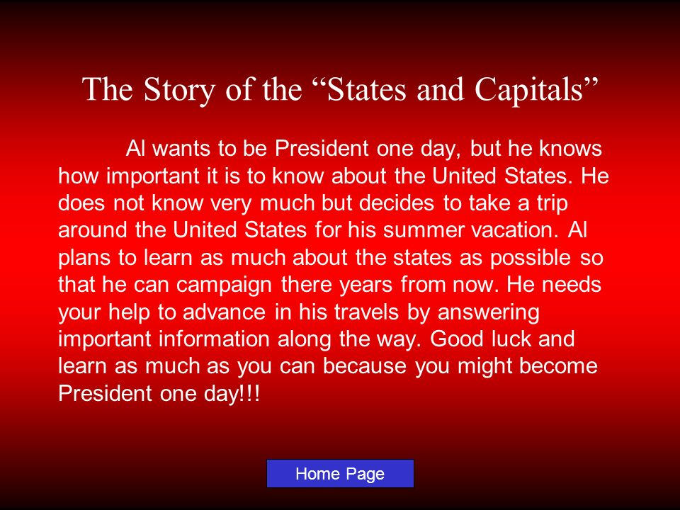 The Story of the States and Capitals