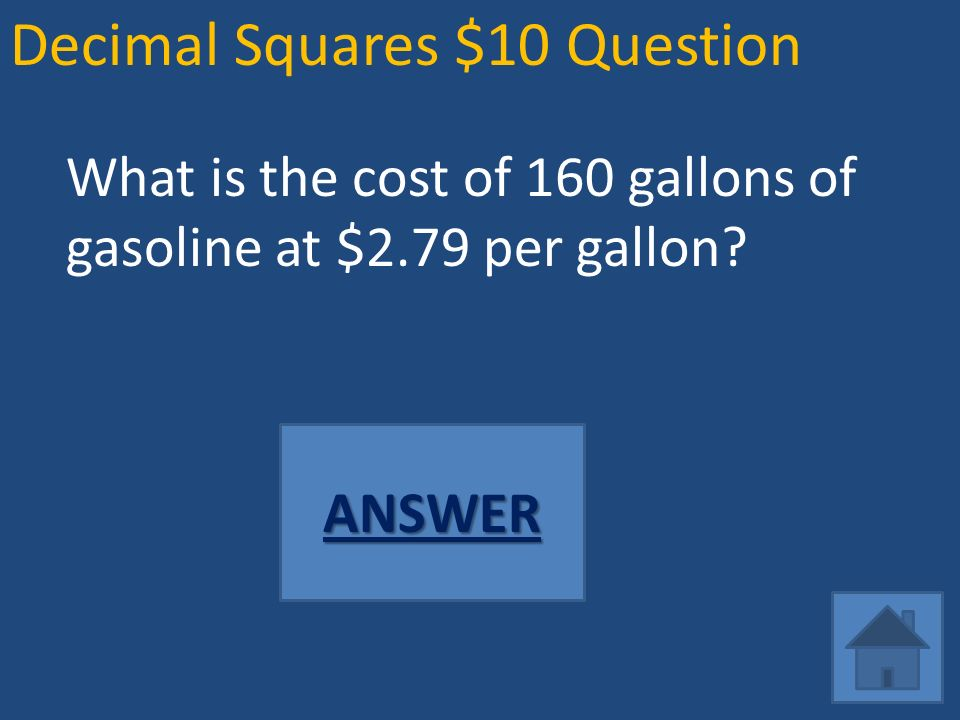 Math Jeopardy Decimal Squares Fraction City - ppt video online download