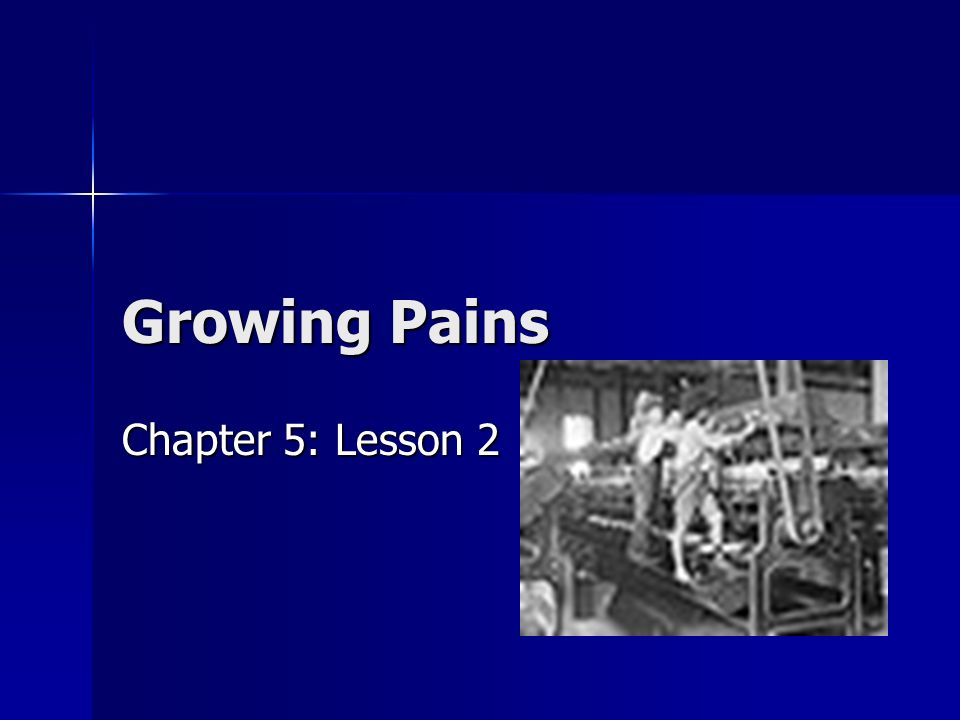 Growing Pains Chapter 5: Lesson 2