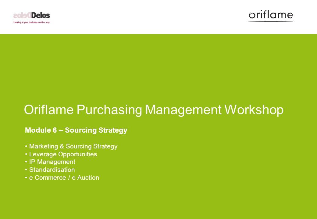 marketing plan oriflame