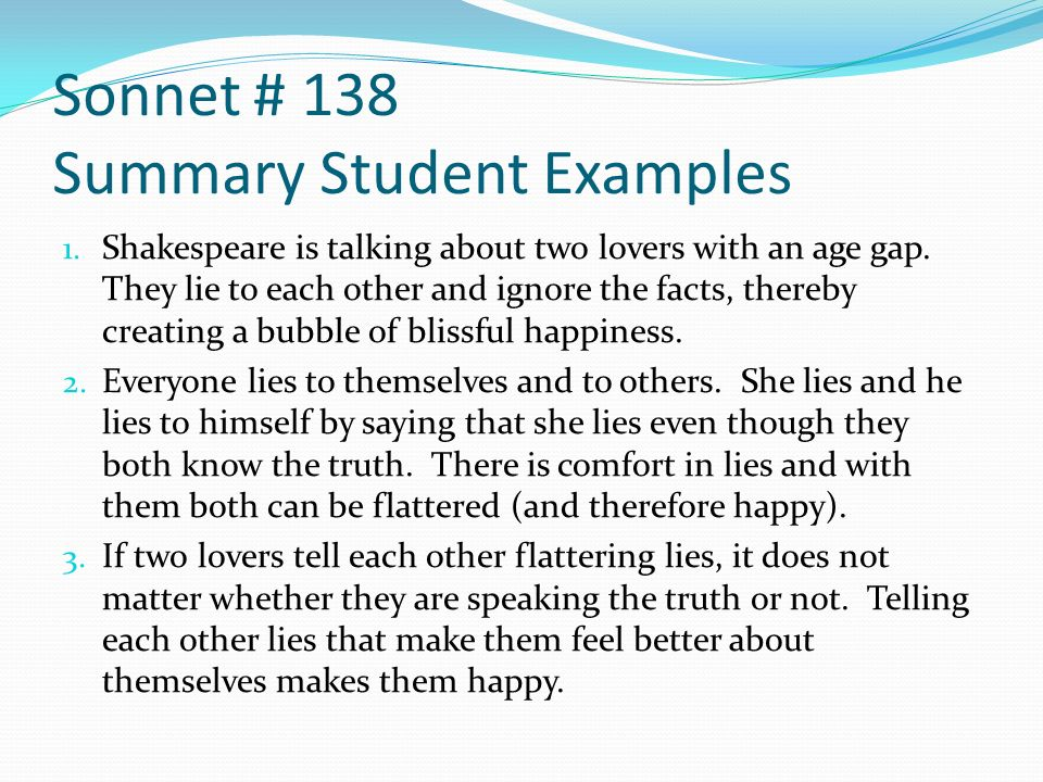shakespeare sonnets summary and analysis pdf