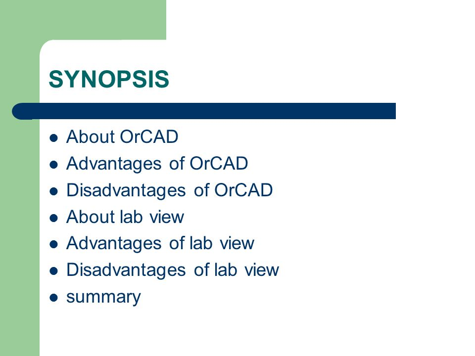 DIFFERENCE BETWEEN ORCAD AND LABVIEW - ppt video online download