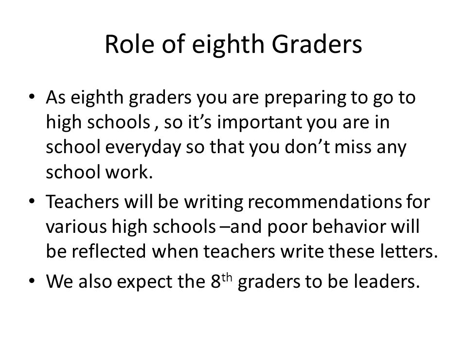 Roger Williams Middle School 8th Grade Assembly Ppt Download
