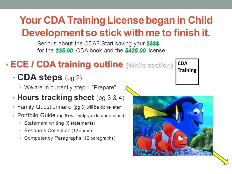 what students are saying about the cda training - ppt  online ...
