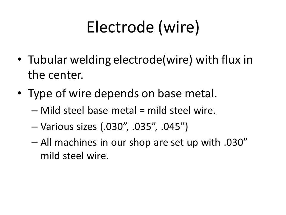 Flux Core Arc Welding FCAW. - ppt video online download