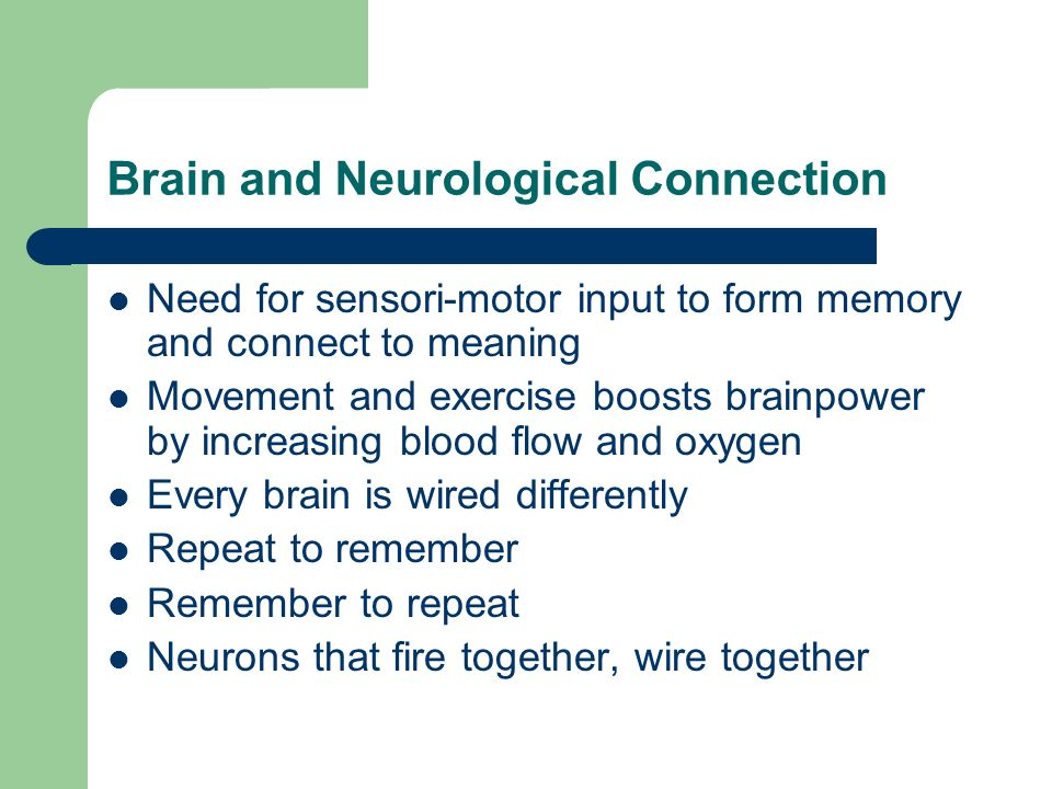 BrainDance Movement as a Tool for Creativity and Learning - ppt ...