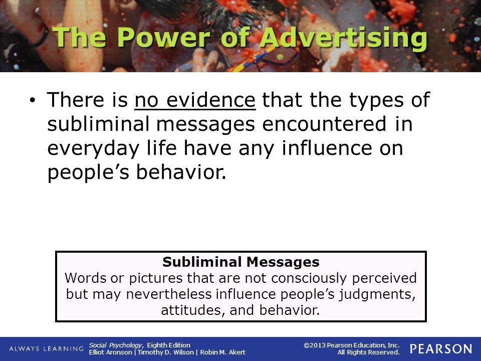 advertising influence peoples behavior