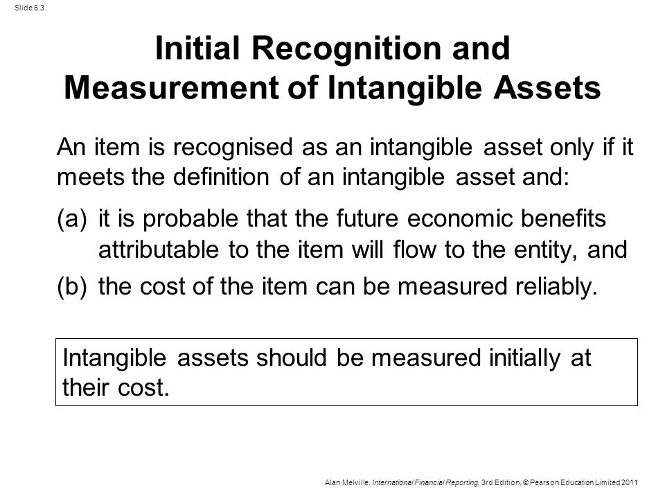 Chapter 6 Intangible Assets Ias38 And Ifrs3 Ppt Download
